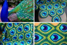 peacock crocet pattern