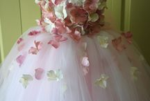 Tutus with flowers