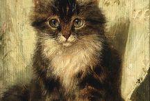 ♡ Katjes!! (Henriette Ronner Knip) ♡ / I loooove cats!!!!!!!