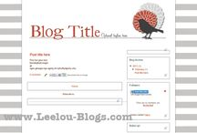 Blog Templates / Check out our Pre-made Blog Templates!