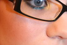 Tips for wearing makeup with glasses!
