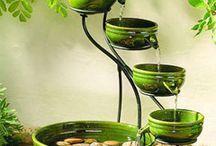 Fontes de Água / Ceramica