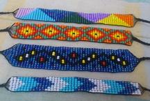 Beads, loom and Crochet