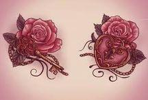 tatoo rosas