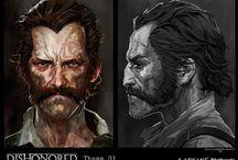 Character Concept Art - Referances