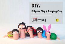 DIY. Polymer Clay / Jumping Clay