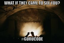 Guru Code / Come learn the Guru Code http://wednesday.andylockhart.biz