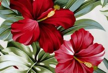 telas flores
