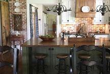 Kitchen Wood Bricks