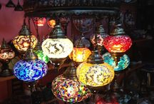 Mosaic Glass Lights / Mosaic Glass Lights bringing out the colors and styles of the Orient - available at our on line store.