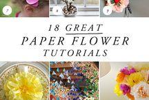 Paper and Plastic Art / Paper and Plastic DIY