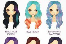 colores para pelo