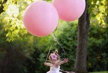Balloon photo ideas