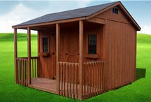 Bunce Buildings / Each building, from the smallest 6×6 to the largest 14×40, is individually stick-built by skilled craftsmen, delivered to, set-up and leveled on your lot. Larger or over sized buildings can be built right on your site. Value Built From the Ground Up...