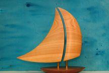 Zeilboot Van Hout