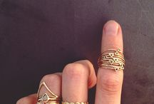 Pretty rings & things