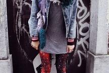 Urban Avant Garde fashion shoot