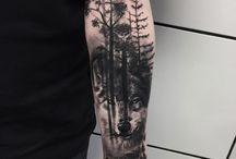 trees tattoos