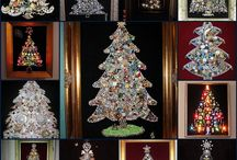 Christmas tree beads & baubbles