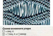 patterns knitting узоры вязания