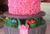Girl Teenage Mutant Ninja Turtle Party