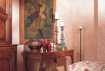 "Porter's Interno Lime Wash :: Natural Paints / Porter's Interno Lime Wash is a unique lime based coating which is designed for interior use, and replicates the soft weathered patina of a traditional lime wash. Its unique formulation allows the lime to gently 'bloom"" through the paint, creating soft tone variations which add depth, texture and that Mediterranean look without the necessity of exposure to the elements."