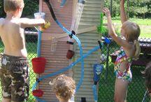 Sommerspiele im garten