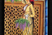 kadın çini