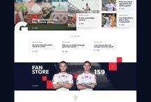 Football Landingpage