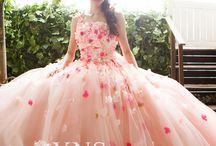 カラードレス♡