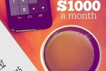 Money saving and budgeting