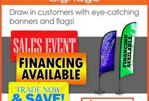 Auto Dealer Banners and Signs | Signmax.com / Promote your Auto Dealership with Custom Banners, Signs, Flags and Decals!