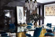 Brass swivel chair reupholstery inspiration