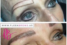 Microblading before and after / Take a look how #microblading transforms not only your brows but your entire look. #Before&After #Results