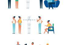 иллюстрации персонажей