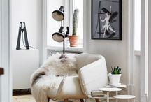 Biele interiery