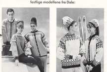 gamle strikkeoppskrifter.