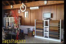 ShowRoom Ares Parquet / Il nostro laboratorio, il nostro ufficio e la nostra consulenza 24h su 24 - 7 giorni su 7. Ares Parquet, Bedizzole via Benaco 92 info 329 1419272
