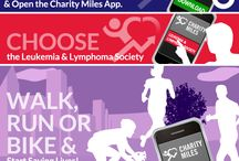 Love for Leukemia and Lymphoma Society / Team in Training is running, walking, biking, and hiking to help save lives. / by Charity Miles