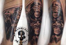Animals Tattoos / #animaltattoo