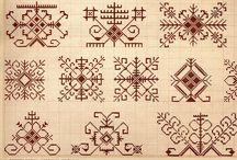 Monochromatic Embroidery