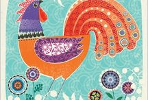 Folklore designs.