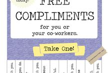 Operation Caring - Tear-off Tab Flyer - Tearable Jokes and Affirmations