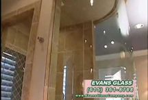 Evans Glass Video / Enjoy watching #videos of Evans Glass Company work and television advertisements of glass fitting, installation, repair and replacement.