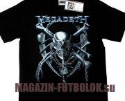 Футболки Megadeth / Футболки Megadeth - одной из самых крутых Metal Групп