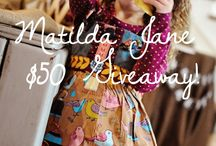 Jules' closet / Our love for Matilda Jane clothing!