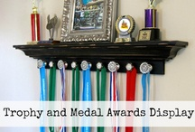 Awards Display Ideas / by Tiffany Raab Quisno