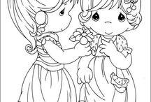 907 Куклы - Эскизы