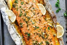Fish and Sea Food Recipes / Fish and seafood, including my favorite salmon, tilapia and shrimp dishes! Quick I Easy I Delicious I Fish I Sea Food I Salmon I Tilapia I Prawns I Shrimps I Recipes I Healthy I Family Friendly I