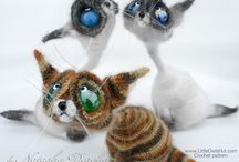 Cat Siam Crochet pattern by Pertseva / Cat Siam Amigurumi crochet pattern by Pertseva / by LittleOwlsHut
